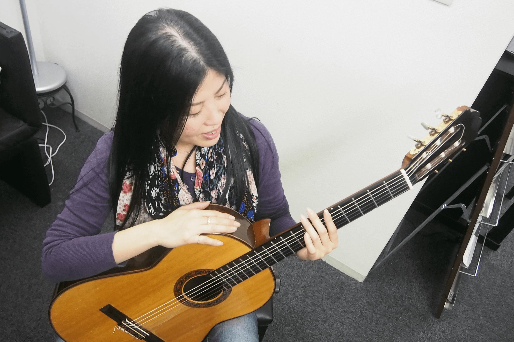 +Musicクラシックギター レッスン